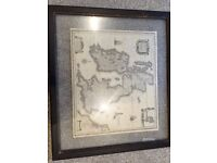 Two traditional style (and unusual) map pictures