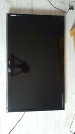 LG 42 Inch Smart TV Full HD With universal wall mount and remote - no stand