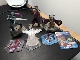 Disney Infinity Playsets - Toy Story, Cars, Wreck it Ralph & Guardians of the Galaxy
