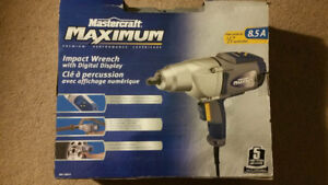Impact wrench/impact gun electric with LCD digital display