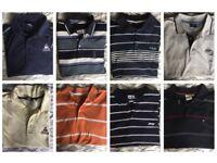 Mens polo shirt bundle (Large)