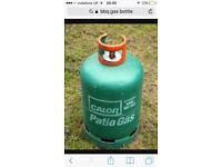 BBQ empty gas bottle