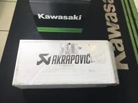 (BRAND NEW!) AKRAPOVIC DUAL CARBON EXHAUST