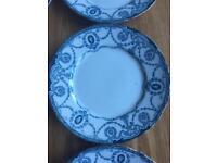 6 lovely dinner plates