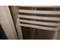 Flomasta Curved Towel Radiator - small dent on one bar