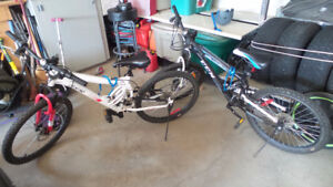 2 x CCM 24' Mountain Bikes for sale ($200 for both)