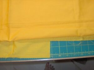 various pieces of solid poly/cotton fabric - prices shown in ad