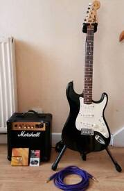 Fender/Marshall Guitar Package