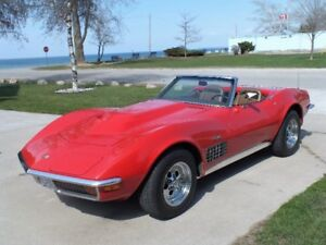 Excellent Condition Corvette Stingray Convertible