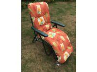 Comfortable Garden Reclining Chair