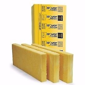 Isover Cavity Wall Insulation Slabs Floor Loft Roll | 50mm 75mm 85mm 100mm 150m