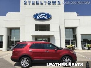 2014 Ford Explorer LIMITED AWD LEATHER/MOON  - Leather Seats -