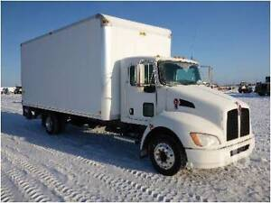 Looking for a Kenworth T170 with 20ft van body