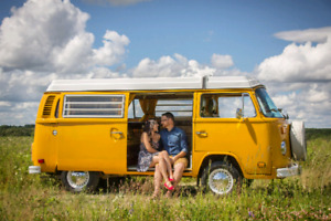 VW Bus for Events, Photoshoots, Weddings, etc