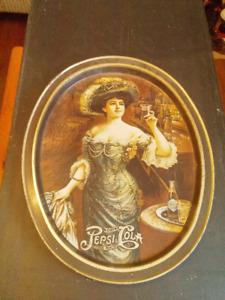 Moving - Vintage Pepsi Gibson Girl Tray