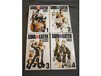 Soul eater 1-4 £20