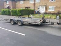 Brian james twin axel tilt road trailer car transporter 2.7t