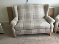 Next sofa excellent condition only a couple of months old comes with reciepts
