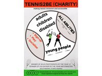 Tennis2Be (Charity) striving for equality through tennis