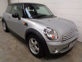 MINI ONE , 2008 , **ONLY 33000 MILES + MINI HISTORY**, LONG MOT , FINANCE AVAILABLE , WARRANTY