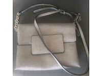 Small bag New! 23 cm x 17 cm silver grey colour