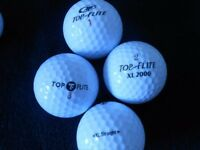 100 Topflite Mixed Model Golf Balls - Pearl. Condition