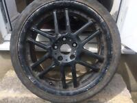 Black alloys