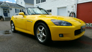 2003 Honda S2000 AP1 Spa Yellow
