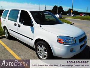 2009 Chevrolet Uplander Cargo Van *** SOLD AS IS ** 128km