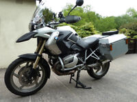 Jesse Luggage Systems Odyssey II aluminium panniers (low exhaust mod) fit the BMW R1200GS 2004-2013