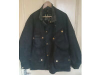 Barbour A7 wax cotton motorcycle jacket