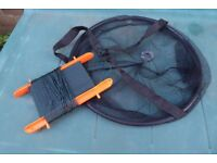 Crab Net and Line for Pier Fishing, 4 Available with Different Coloured Handles, Histon