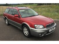 Subaru Legacy OUTBACK 3.0 H6 model, auto 4x4 estate car FULL MAIN DEALER HIST, 80k, mot'd LOVELY CAR