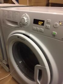 Hotpoint Washing Machine WMEF742P in good condition but showing signs of bearings wear and noisy