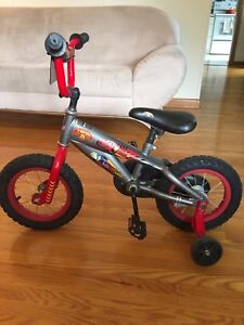 Lightning McQueen / Cars kids bike 12.5 inch