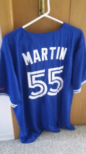 Russell Martin Blue Jay Jersey