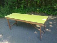 6ft Wooden Tressle Table