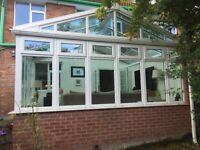 4 year old conservatory. 420cm x 360cm