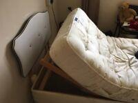 Sleepeezee single electric bed