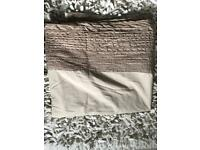 NEXT - COFFEE COLOURED KING SIZE DUVET COVER - GREAT CONDITION