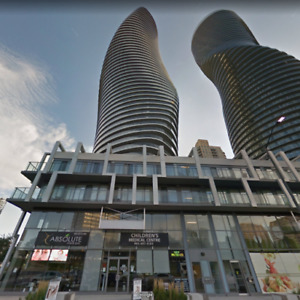 2 BED/1 BATH - 4TH FLOOR - LUXURY CONDO DOWNTOWN MISSISSAUGA
