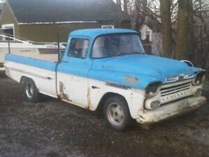 Wanted 1958/59 fleetside bed suitable for restoration