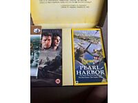 PEARL HARBOR VIDEO SET,WITH MAP AND NATIONAL GEOGRAPHIC VIDEO