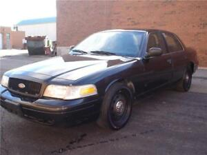 2011 Ford CROWN VIC.EX POLICE BLK/BLK