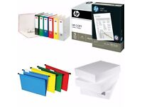 A4 Printer Paper / Lever Arch File / Envelopes and other Stationeries Wholesale Price