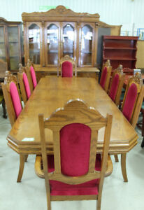 Oak Dining Suite @ Habitat ReStore in Cobourg