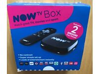 Now TV Box-Brand New And Sealed.
