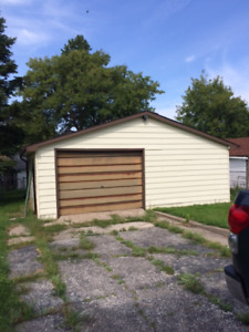 I want this garage gone.  give me your best offer