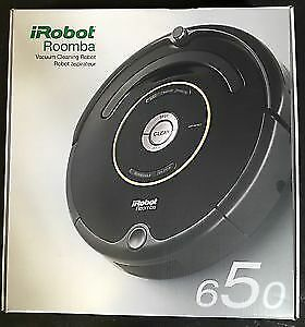 iRobot Vacuum Cleaning Robot - Roomba 650: Brand New Sealed!