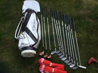 Golf Clubs Mizuno Cimarron Blades Full Set